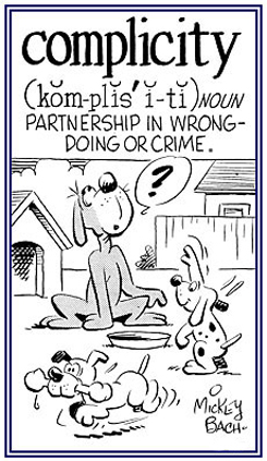 Partnership in a criminal act.
