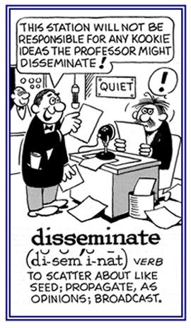 Disseminate Ideas