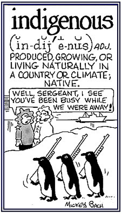 Local inhabitants.