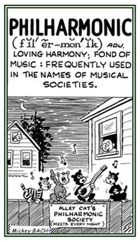 A love for musical harmony.