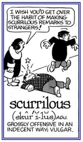 Scurrilous