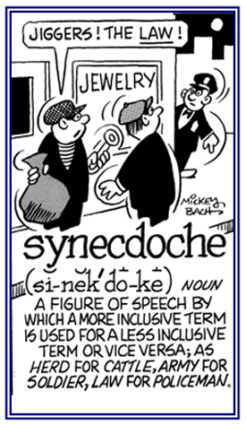 word information search results for synecdoches