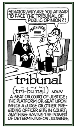 A court of justice.
