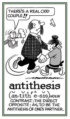 higher english antithesis